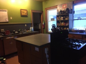 My kitchen in it's clean and lovely state